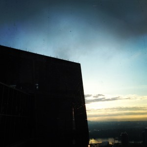 Abstract view from Kohler Plaza, 10th Floor OHSU